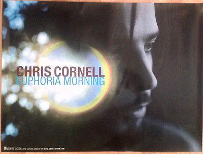 Chris Cornell: Euphoria Morning Debut Solo Album Promo Poster (24