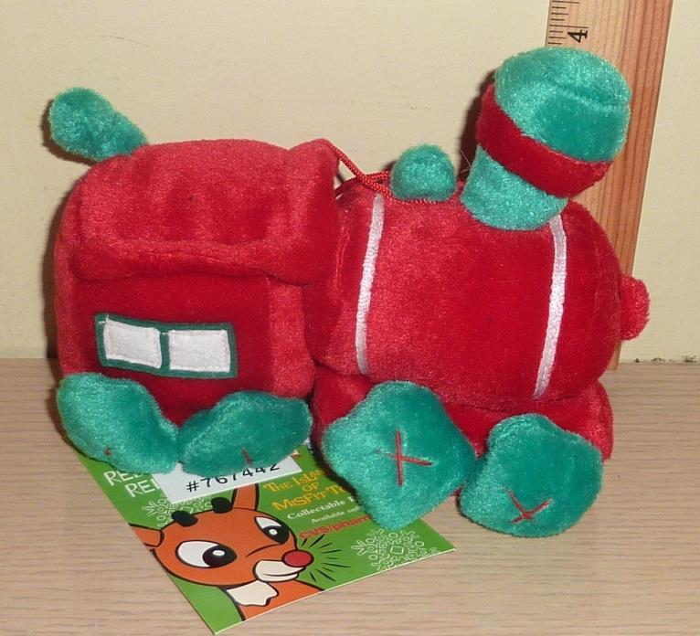 1998 CVS Stuffins Rudolph Island of Misfit Toys Beanbag Plush ~ Misfit Train