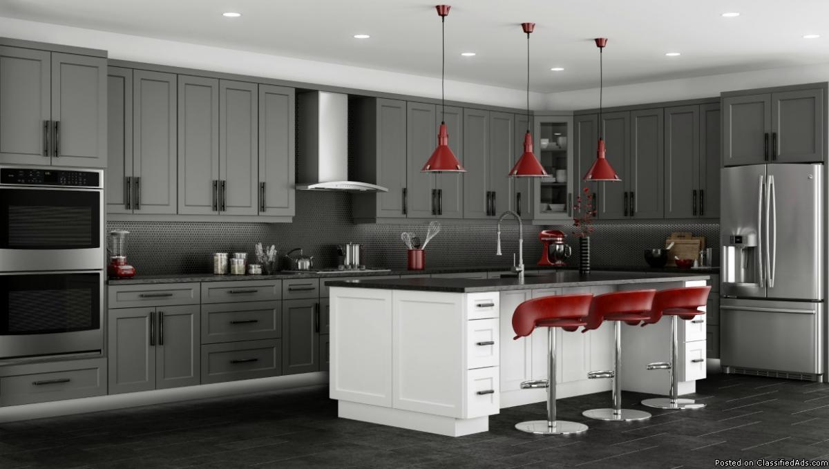 CABINETS, KITCHEN AND BATHROOM