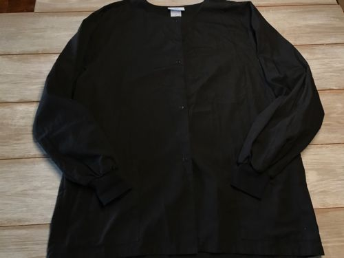 Women's Black SB Scrubs Jackets Size Large