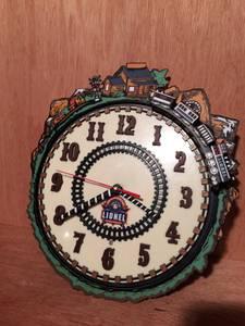 Lionel train clock anniversary (Canton)