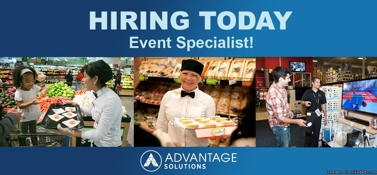 Event Specialist Part Time Sales