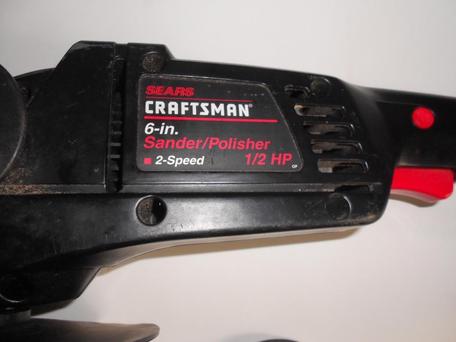 Craftsman 6-inch disc sander-polisher