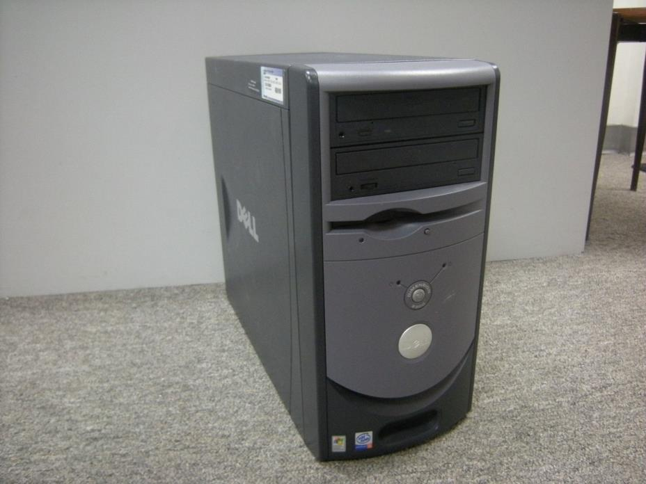 Vintage Dell Dimension 2300 Desktop (Pentium 4 1.8GHz/256MB/40GB/Windows 98SE)