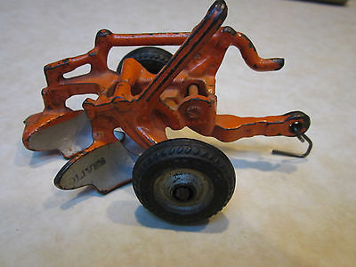 Vintage Arcade Oliver Two Bottom Cast Iron Farm Toy Plow