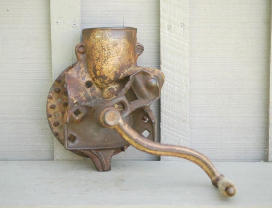 Old Vintage Antique Primitive Red Chief Corn Sheller Farm Homestead Tool USA