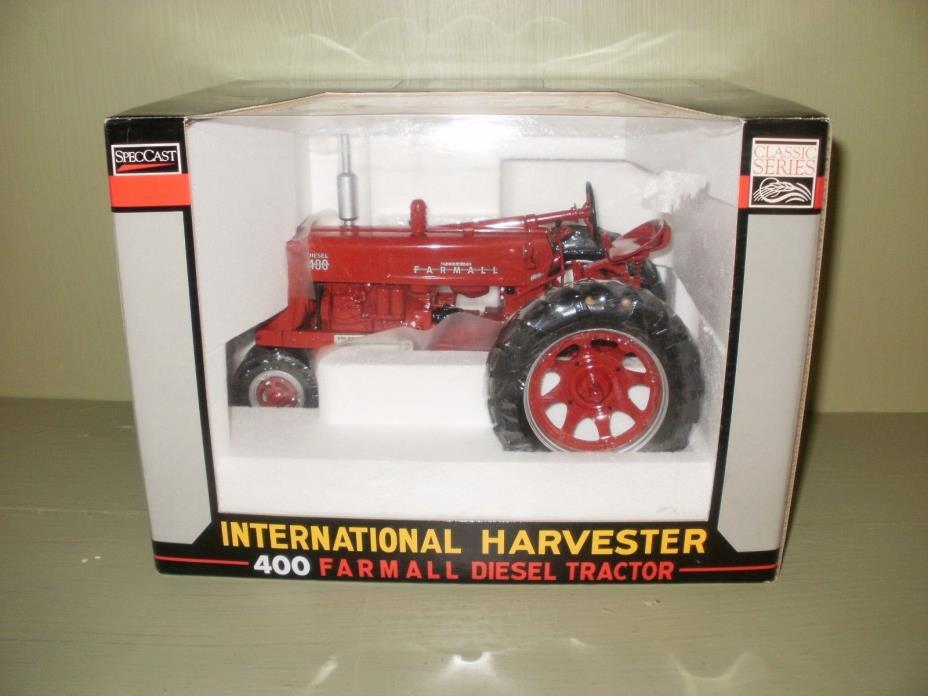SPECCAST, FARMALL 400  TRACTOR , 2003 PA FARM SHOW , STK#CUST297,1/16SCALE