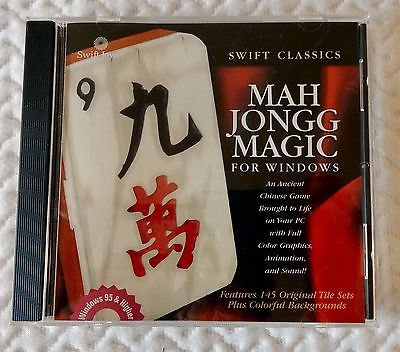 MahJongg Magic PC CD For Windows ancient chinese puzzle matching tiles game