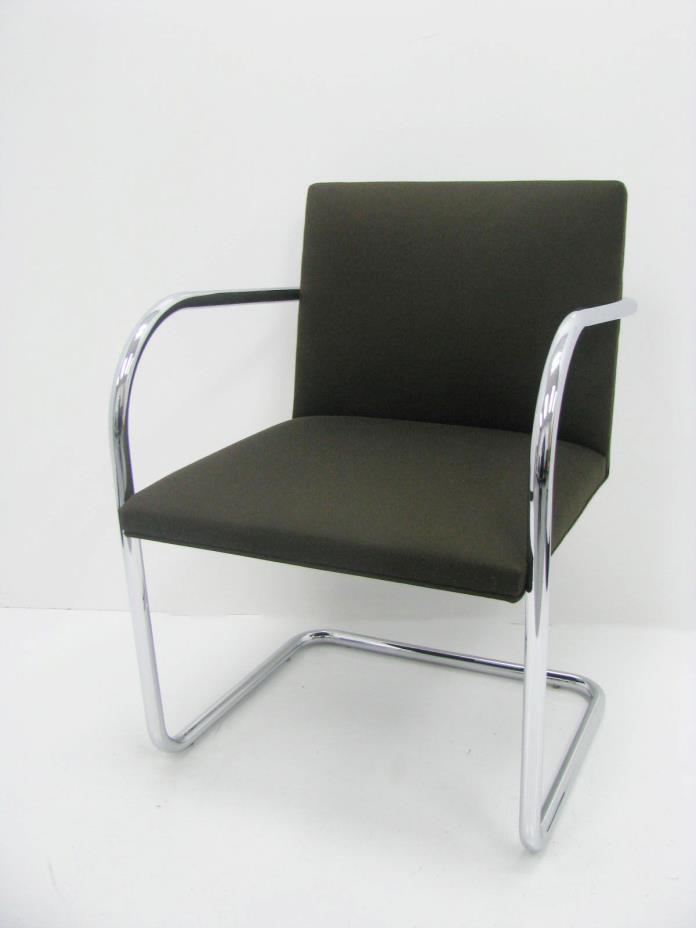 Knoll Mies van der Rohe Brno Side Chair Tubular eames era NICE!