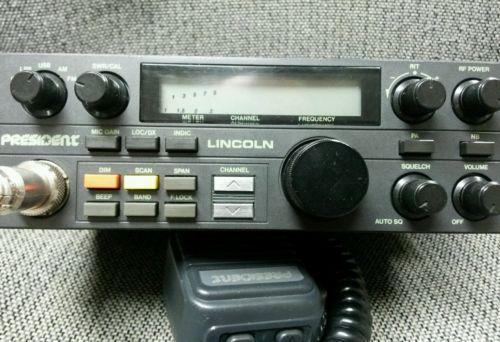 President Lincoln 10 meter ham radio