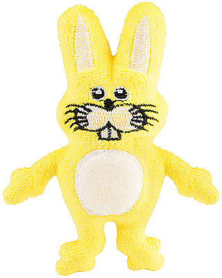 Small Cute Plush Yellow Easter Bunny Rabbit Animal Cuddly Toy