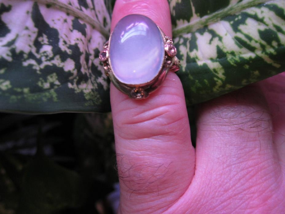 Beautiful Antique 10 kt. Gold 10 Carat Moonstone Ring