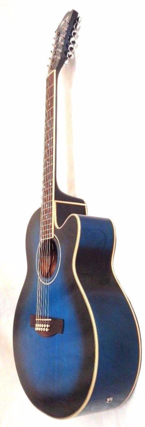 Ibanez AEL1512ETBS 12-String Cutaway Acoustic-Electric Guitar  FOR PARTS -REPAIR