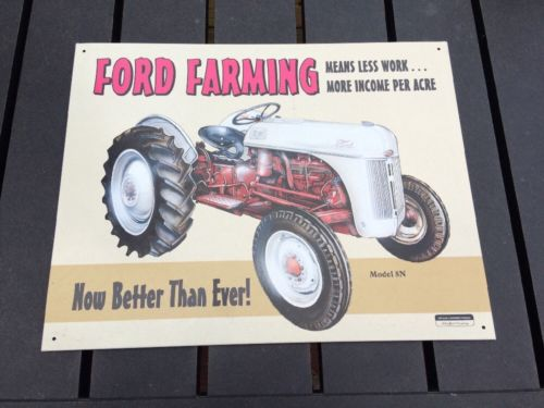 1998 Ford 8n Tractor Sign