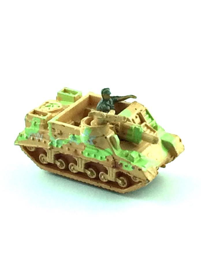 MICRO MACHINE LOT MILITARY VEHICLE M-7 Priest Mini Howitzer Motor Carriage US