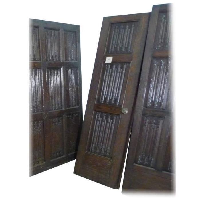 16th century Oak Tracery Paneling-Historic Provenance Wm.R. Hearst's San Simeon