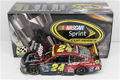 NASCAR 2015 JEFF GORDON #24 MARTINSVILLE RACE WIN 1/24 CAR JEFF'S LAST CUP WIN