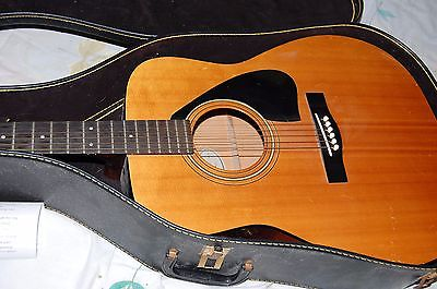 YAMAHA F-G 400 GUITAR W/CASE -- LOCAL PICKUP TOO COSTLY TO SHIP