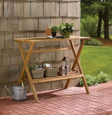 Simple Potting Bench / Console Table [ID 114923]