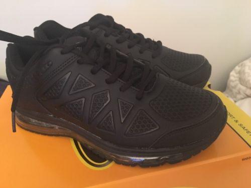 Safetrax Slip Resistant Black Shoes Woman Sz 8.5/Men's 7