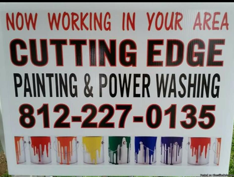 Cutting Edge Painting, Power Washing & Window cleaning