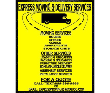 Local Moving & Delivery Services LEX, KY