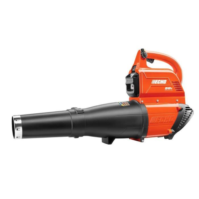 ECHO 120 mph 450 CFM 58-Volt Lithium-Ion Brushless Cordless Leaf Blower *New OB*