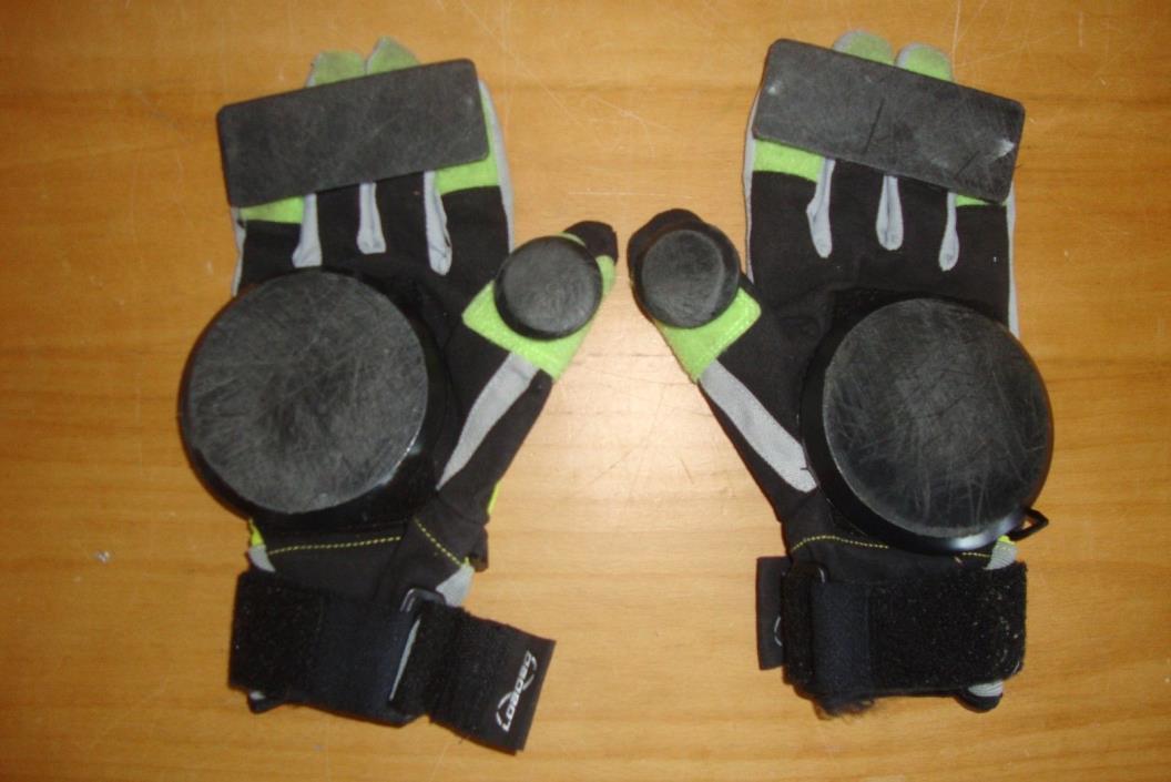 Loaded Longboard Free Ride Slide Gloves Size Large