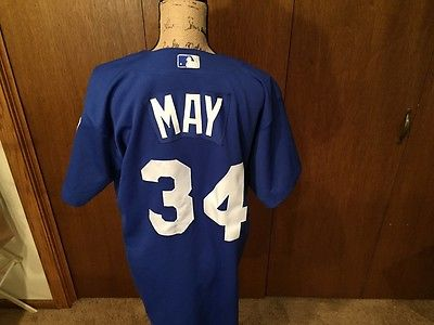 DARRELL MAY GAME USED JERSEY
