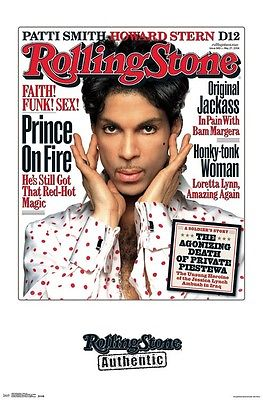 PRINCE ROLLING STONE MAGAZINE COVER POSTER NEW  !