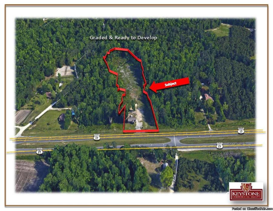Eagle Wings Tract-5.03 Acres, Graded and Cleared-For Sale