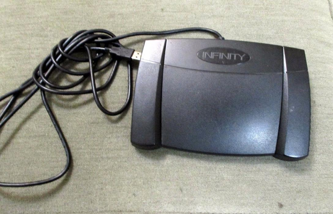 Infinity USB Transcription Foot Pedal (IN-USB-2)