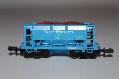 N Scale Atlas 32171 Great Northern 70 Ton Ore Car w/Load GN 95309