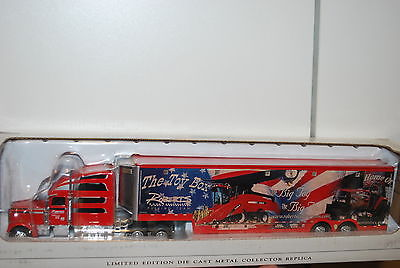 1/64 Case IH Roberts tractor pulling team semi hauler by Spec Cast, hard to find