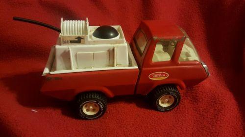 Red Fire Pumper Tonka Truck (1970s)