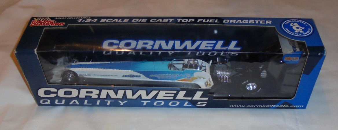 RACING CHAMPIONS 1:24 SCALE DIE CAST TOPFUEL DRAGSTER CORNWELL QUALITY TOOLS NIB