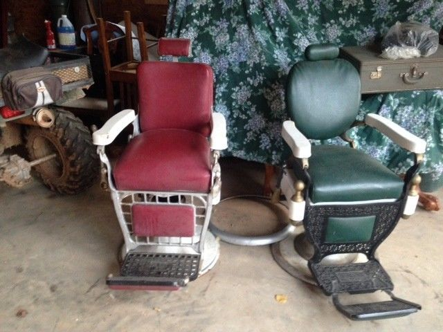Antique Barber's Chairs
