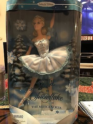 Barbie as Snowflake in the Nutcracker