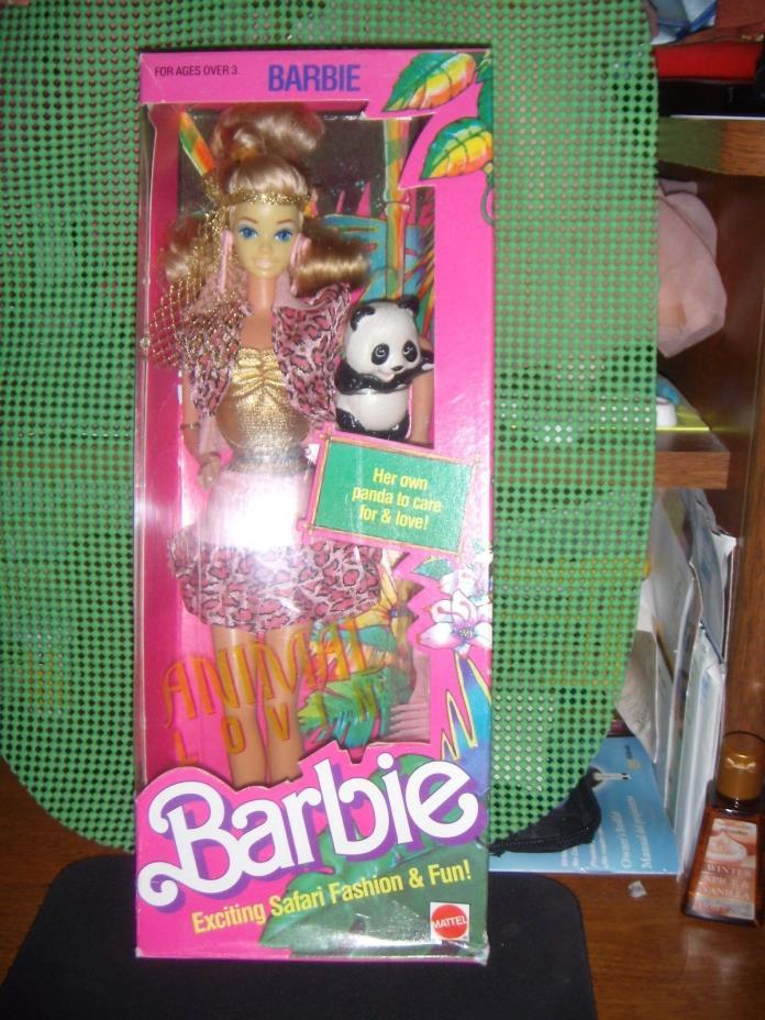 NRFB !  1988 ANIMAL LOVIN' BARBIE