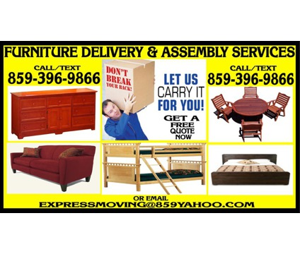 Furniture & Home Appliance Delivery Services