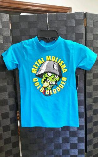 Kids Metal Mulisha Gold Blooded T Shirt