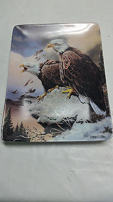 Winter Call & Winter Watch Eagle Plates w/display