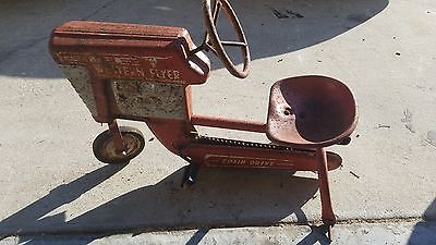 Vintage Western Flyer Chain Drive Pedal Tractor