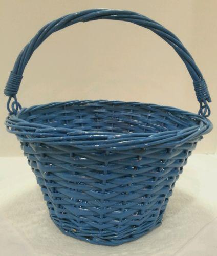 Shabby chic Basket Gathering Basket