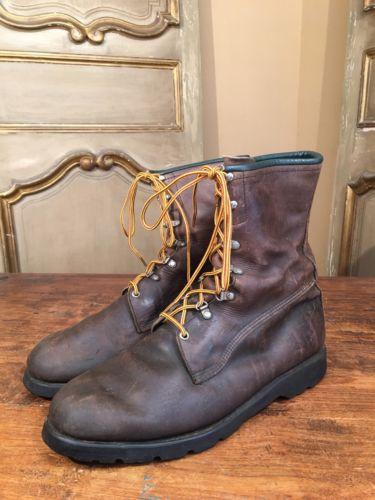 VTG Men's Browning Chukka Engineering Sportsman Hiking Work Boots Size 11