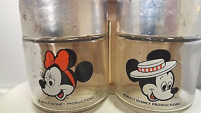 Mickey & Minnie Mouse Disney Salt & Pepper shakers