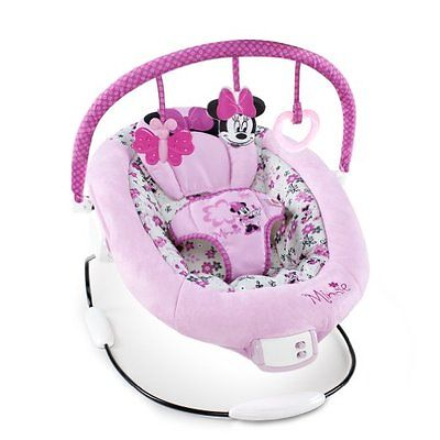 Minnie Mouse Musical Baby Bouncer Chair