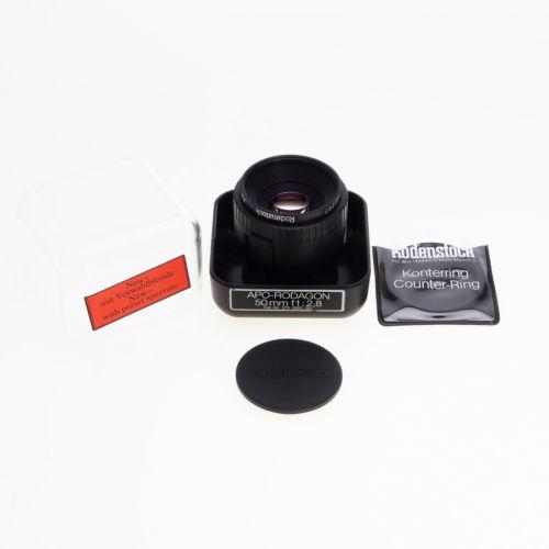 Rodenstock Enlarging Lens APO-Rodagon 50mm F2.8 Lens with Counter Ring 452 340