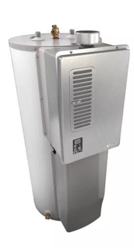 Rinnai RH180 40 Gallon Natural Gas Hybrid Water Heater NEW 80% EFU