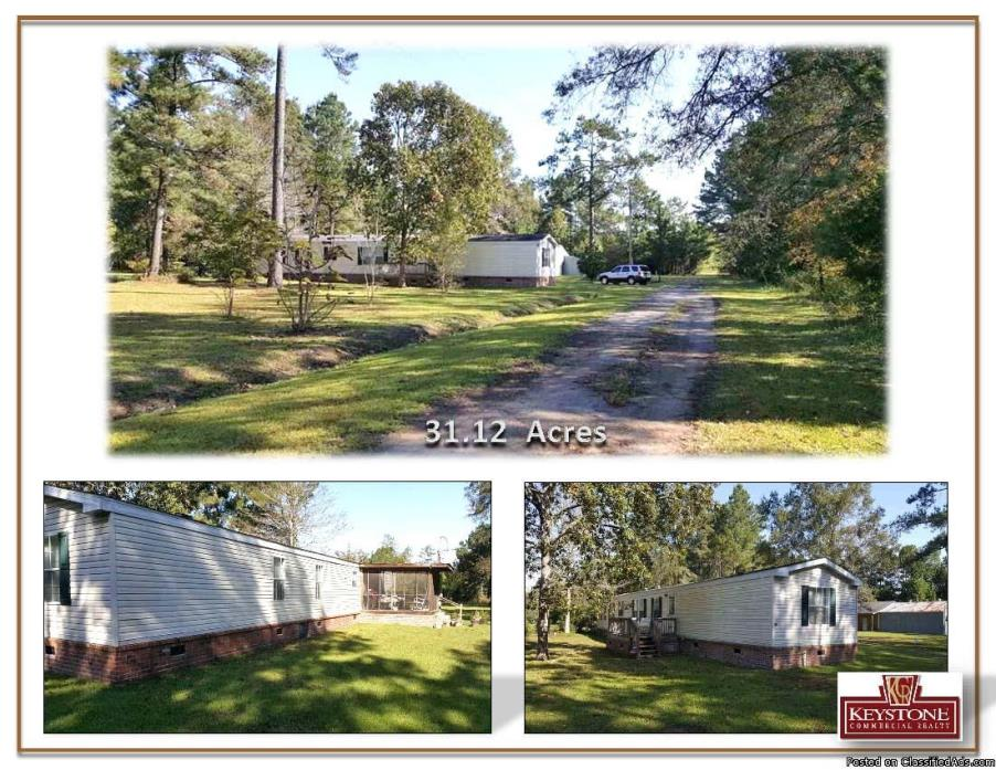 Dirty Branch Road 3 Bdrm-3ba-31.12 Acres-For Sale